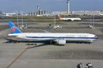 チョロ太さんが、成田国際空港で撮影した中国南方航空 777-31B/ERの航空フォト(写真)