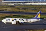 菊池 正人さんが、羽田空港で撮影したスカイマーク 737-86Nの航空フォト(写真)