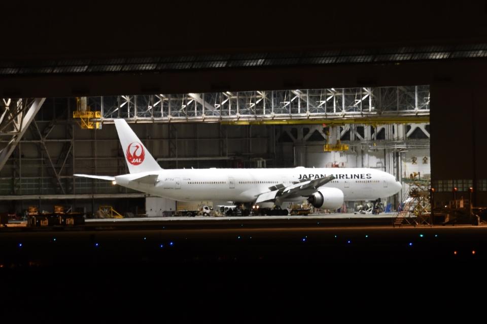 木人さんの日本航空 Boeing 777-300 (JA731J) 航空フォト