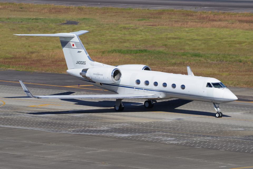 yabyanさんのエム・エイチ・アイ・ファイナンス Gulfstream Aerospace G-IV (JA002G) 航空フォト