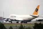 アオアシシギさんが、成田国際空港で撮影したジャーマン・カーゴ 747-230B(SF)の航空フォト(写真)