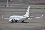 トロピカルさんが、羽田空港で撮影したアメリカ空軍 C-40C BBJ (737-7CP)の航空フォト(写真)