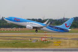 PASSENGERさんが、デュッセルドルフ国際空港で撮影したトゥイフライ 737-8K5の航空フォト(飛行機 写真・画像)