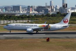 takapiroさんが、伊丹空港で撮影した日本トランスオーシャン航空 737-8Q3の航空フォト(飛行機 写真・画像)