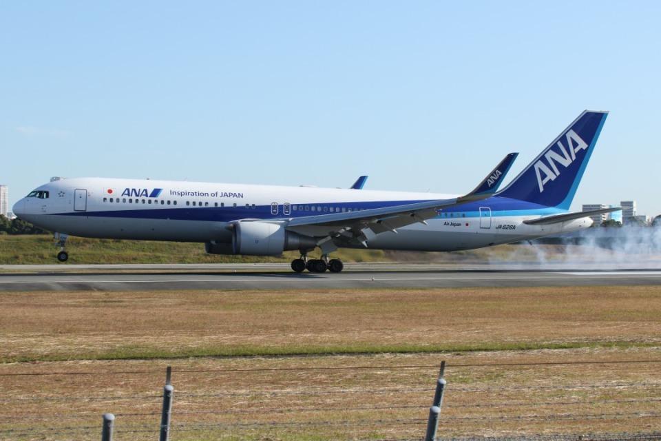 takapiroさんの全日空 Boeing 767-300 (JA626A) 航空フォト