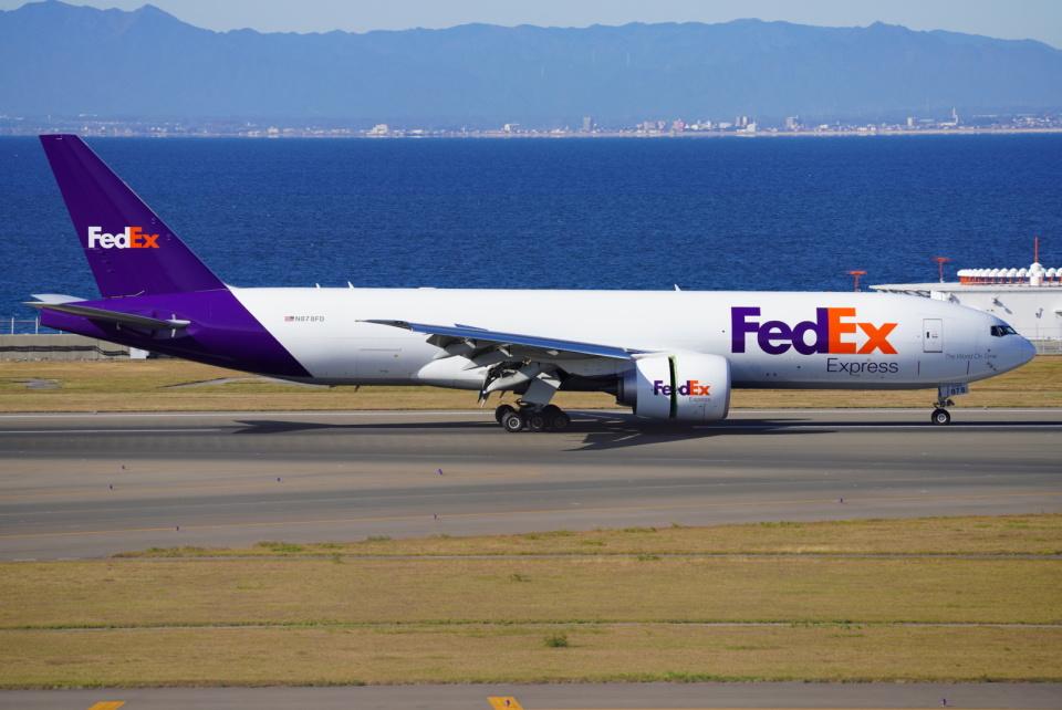 SFJ_capさんのフェデックス・エクスプレス Boeing 777-200 (N878FD) 航空フォト