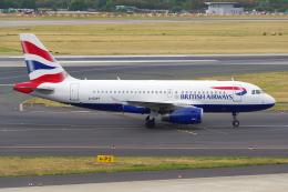 PASSENGERさんが、デュッセルドルフ国際空港で撮影したブリティッシュ・エアウェイズ A319-131の航空フォト(飛行機 写真・画像)