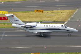 PASSENGERさんが、デュッセルドルフ国際空港で撮影したSilver Cloud Air 525A Citation CJ2+の航空フォト(飛行機 写真・画像)