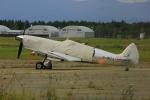 かつけんさんが、新千歳空港で撮影したイギリス企業所有 361 Spitfire LF9Cの航空フォト(飛行機 写真・画像)