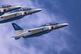 花田花男さんが、名古屋飛行場で撮影した航空自衛隊 T-4の航空フォト(飛行機 写真・画像)