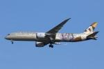 宮崎 育男さんが、成田国際空港で撮影したエティハド航空 787-9の航空フォト(写真)