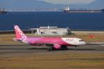 わんだーさんが、中部国際空港で撮影したピーチ A320-214の航空フォト(写真)