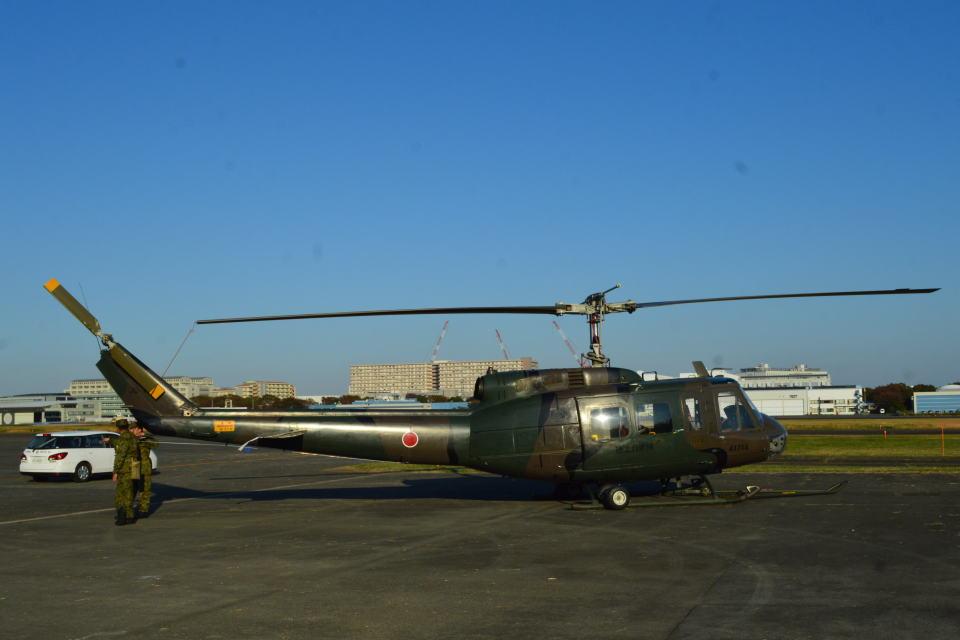 350JMさんの陸上自衛隊 Fuji UH-1H (41714) 航空フォト