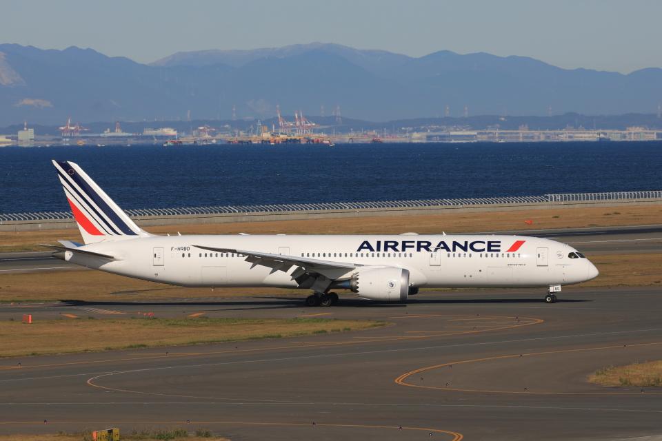 わんだーさんのエールフランス航空 Boeing 787-9 (F-HRBD) 航空フォト