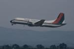 あきさんが、鹿児島空港で撮影した東亜国内航空 YS-11A-500の航空フォト(写真)