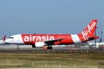 キットカットさんが、成田国際空港で撮影したエアアジア・ジャパン(〜2013) A320-216の航空フォト(飛行機 写真・画像)