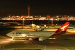 あおいそらさんが、羽田空港で撮影したカンタス航空 747-438/ERの航空フォト(写真)