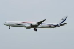 あおいそらさんが、成田国際空港で撮影したスワジランド政府 A340-313の航空フォト(飛行機 写真・画像)