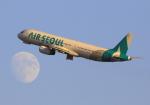 LOTUSさんが、関西国際空港で撮影したエアソウル A321-231の航空フォト(写真)