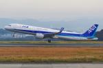 PASSENGERさんが、岡山空港で撮影した全日空 A321-272Nの航空フォト(写真)
