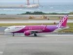✈︎Love♡ANA✈︎さんが、那覇空港で撮影したピーチ A320-214の航空フォト(写真)