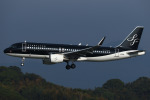 ひよっこさんが、福岡空港で撮影したスターフライヤー A320-214の航空フォト(写真)