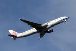 アオアシシギさんが、成田国際空港で撮影したチャイナエアライン A330-302の航空フォト(写真)