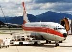 アオアシシギさんが、山形空港で撮影した南西航空 737-2Q3/Advの航空フォト(写真)