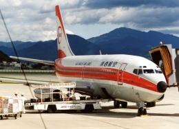 アオアシシギさんが、山形空港で撮影した南西航空 737-2Q3/Advの航空フォト(飛行機 写真・画像)