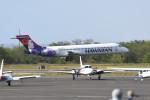 kuro2059さんが、ダニエル・K・イノウエ国際空港で撮影したハワイアン航空 717-22Aの航空フォト(飛行機 写真・画像)