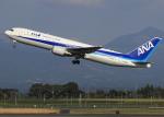 suke55さんが、鹿児島空港で撮影した全日空 767-381/ERの航空フォト(写真)