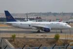 IL-18さんが、マドリード・バラハス国際空港で撮影したエア・カイロ A320-214の航空フォト(写真)