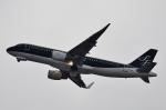 鉄バスさんが、福岡空港で撮影したスターフライヤー A320-214の航空フォト(写真)