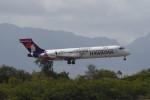 kuro2059さんが、ダニエル・K・イノウエ国際空港で撮影したハワイアン航空 717-26Rの航空フォト(飛行機 写真・画像)