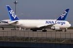 レドームさんが、羽田空港で撮影した全日空 767-381/ER(BCF)の航空フォト(写真)