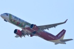 FLYING  HONU好きさんが、関西国際空港で撮影したベトジェットエア A321-271Nの航空フォト(写真)