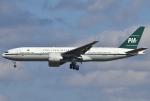 あしゅーさんが、成田国際空港で撮影したパキスタン国際航空 777-2Q8/ERの航空フォト(飛行機 写真・画像)