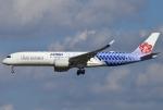 あしゅーさんが、成田国際空港で撮影したチャイナエアライン A350-941XWBの航空フォト(写真)