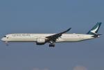 あしゅーさんが、成田国際空港で撮影したキャセイパシフィック航空 A350-1041の航空フォト(写真)