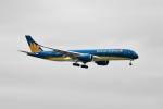 beimax55さんが、羽田空港で撮影したベトナム航空 A350-941XWBの航空フォト(写真)