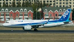 coolinsjpさんが、大連周水子国際空港で撮影した全日空 A320-271Nの航空フォト(飛行機 写真・画像)
