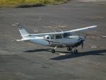ヒコーキグモさんが、岡南飛行場で撮影した共立航空撮影 T206H Turbo Stationairの航空フォト(写真)