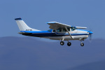 Nao0407さんが、松本空港で撮影した川崎航空 TU206F Turbo Stationairの航空フォト(写真)