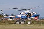 MOR1(新アカウント)さんが、宮崎県高原町で撮影した宮崎県防災救急航空隊 412EPの航空フォト(写真)