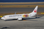 SFJ_capさんが、中部国際空港で撮影した日本トランスオーシャン航空 737-8Q3の航空フォト(写真)