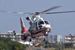 ヘリオスさんが、宮崎空港で撮影した熊本県防災消防航空隊 AS365N3 Dauphin 2の航空フォト(写真)