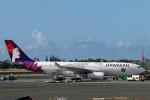 菊池 正人さんが、ダニエル・K・イノウエ国際空港で撮影したハワイアン航空 A330-243の航空フォト(写真)