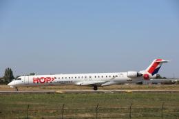 安芸あすかさんが、パリ オルリー空港で撮影したエールフランス・オップ! CL-600-2E25 Regional Jet CRJ-1000の航空フォト(飛行機 写真・画像)