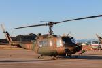 代打の切札さんが、岐阜基地で撮影した陸上自衛隊 UH-1Jの航空フォト(写真)