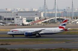 ハム太郎。さんが、羽田空港で撮影したブリティッシュ・エアウェイズ 787-8 Dreamlinerの航空フォト(飛行機 写真・画像)